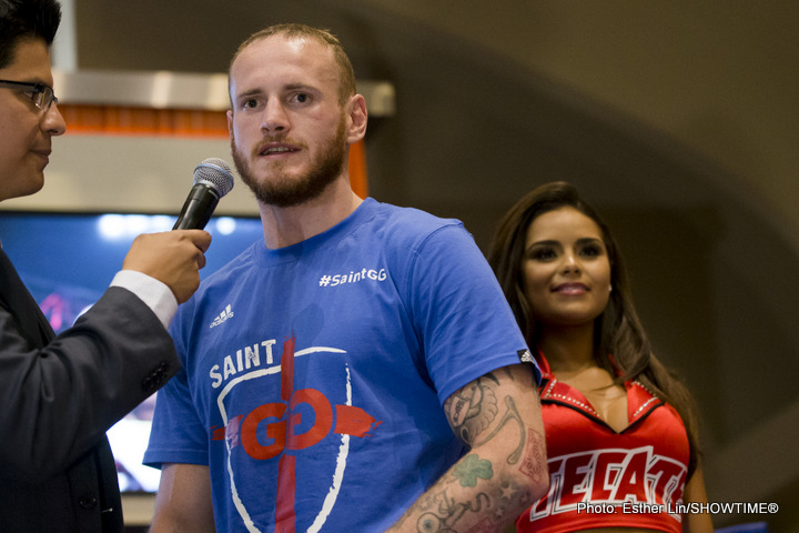 George Groves Taunting Old Rival James DeGale