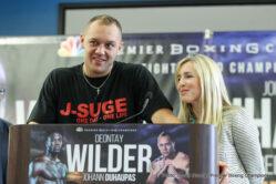 Deontay Wilder, Johann Duhaupas - Weigh In Results: