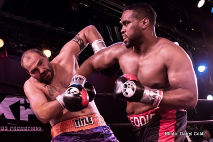 Eddie Chambers eyes the top heavyweight division after win