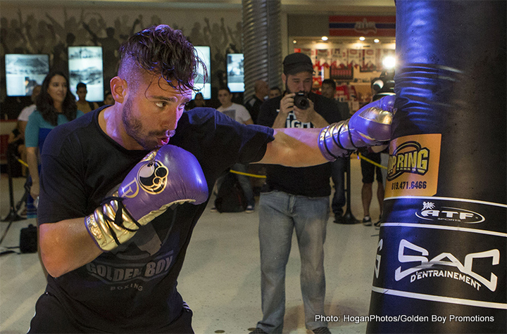 David Lemieux, Gennady Golovkin - Whatever happens this Saturday at Madison Square Garden, IBF middleweight champion David Lemieux, will receive huge credit for signing to fight dominant WBA boss Gennady Golovkin, and nominating to sign for a dangerous unification immediately after winning his IBF crown against Hassan N'Dam, rather than take a couple of 'soft' voluntary defences first.