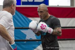 Miguel Cotto - Reigning WBC, Ring Magazine and Lineal Middleweight World Champion Miguel Cotto (40-4, 33 KOs) has arrived in Los Angeles to begin training camp at Wild Card Boxing Club with trainer Freddie Roach ahead of his Saturday, Nov. 21 showdown against former WBC and WBA Super Welterweight World Champion Canelo Alvarez (45-1-1, 32 KOs) which will be produced and distributed live by HBO Pay-Per-View from The Mandalay Bay Events Center in Las Vegas.