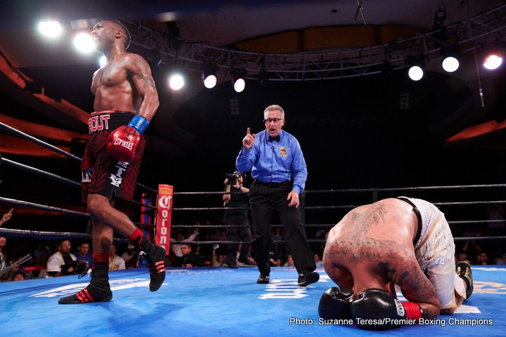 Austin Trout Joey Hernandez Boxing News Boxing Results