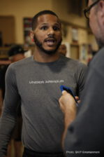 Anthony Dirrell, Marco Antonio Rubio, Tomoki Kameda - CORPUS CHRISTI, TEXAS. (September 3, 2015) - Premier Boxing Champions on CBS fighters were joined by media and fans Thursday at a workout at the PAL Gym in Corpus Christi as they prepare for their Sunday, September 6 showdowns at American Bank Center.
