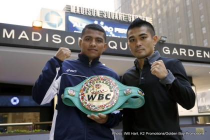 Photos: Chocolatito & Viloria hit MSG