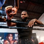 Adrien Broner, Edner Cherry, Jose Pedraza - (Photo credit: Stephanie Trapp/SHOWTIME) Adrien Broner (30-2, 22 KOs) and Khabib Allakhverdiev (19-1, 9 KOs) held a media workout at The Punch House in Cincinnati on Wednesday as they prepare for this Saturday's WBA Super Lightweight World Championship, live on SHOWTIME (10 p.m. ET/7 p.m. PT) from U.S. Bank Arena.