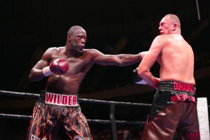 Deontay Wilder defeats Johann Duhaupas