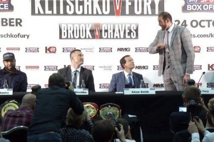 "Tyson Fury comes clean: tales of being dropped in sparring, falling out with trainer, ""just fooling"""