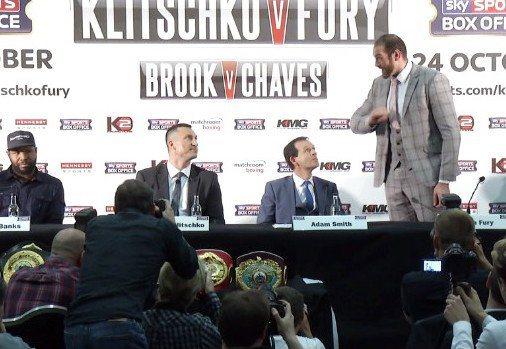 Klitschko vs. Fury Tyson Fury Wladimir Klitschko Boxing News