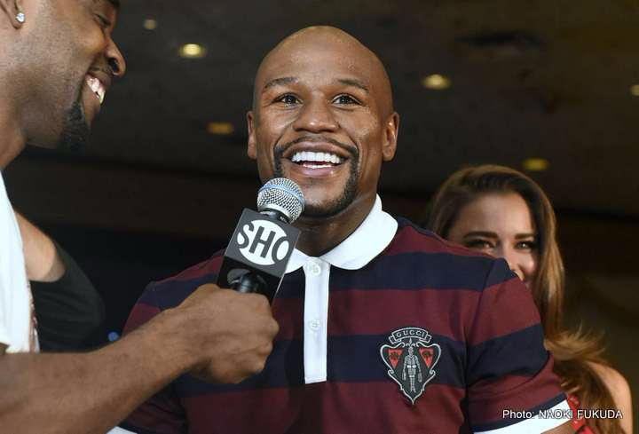 Floyd Mayweather enjoying his UK Victory Tour, says he too wants to see Tyson Fury Vs. Deontay Wilder showdown