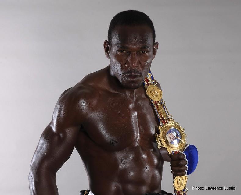 Ovill McKenzie British Boxing Press Room