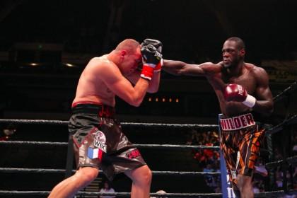Wilder destroys Duhaupas