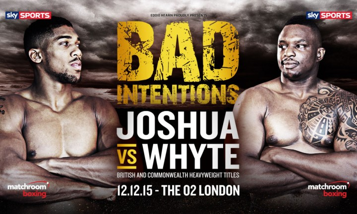 Anthony Joshua Dillian Whyte Boxing News British Boxing