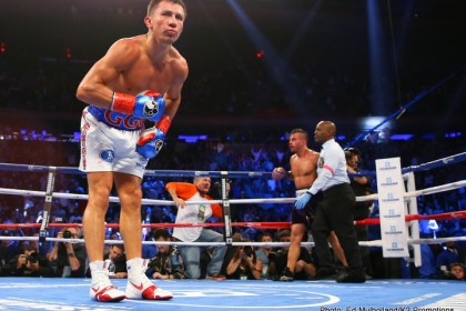 Gonzalez & Golovkin endowed with power and artistry