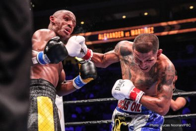 Aron Martinez Devon Alexander Lee Selby Boxing News Boxing Results