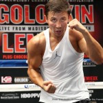 David Lemieux - ABEL SANCHEZ:  Good morning, everybody.  We are extremely happy to be part of this epic event.  I think it's about time that promoters and managers and fighters put their records on the line, put their belt on the line, and the best fight the best, and I'm glad that Tom is the kind of promoter for Gennady that's going to endorse everybody and Oscar being the same way, so we're finally going to see a fight that the fans have been waiting to see, the kind of fight that the fans have been waiting to see.