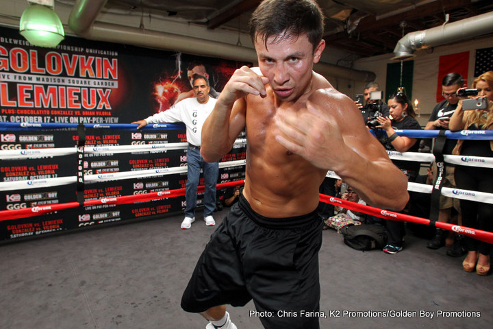 """Daniel Jacobs, Gennady """"GGG"""" Golovkin - Middleweight champions Gennady """"GGG"""" Golovkin and Danny Jacobs have reached a deal for the two of them to fight each other early next year in the first quarter on March 18th on HBO PPV from Madison Square Garden in New York, Boxing 247 is happy to report. This is the fight that the fans have been waiting for."""