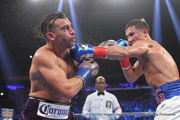 David Lemieux Gennady Golovkin Boxing News