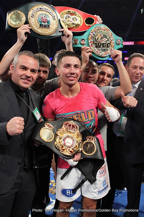 "Amir Khan Gennady Golovkin Saul ""Canelo"" Alvarez Boxing News"