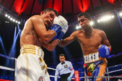 Roman Gonzalez TKOs Brian Viloria