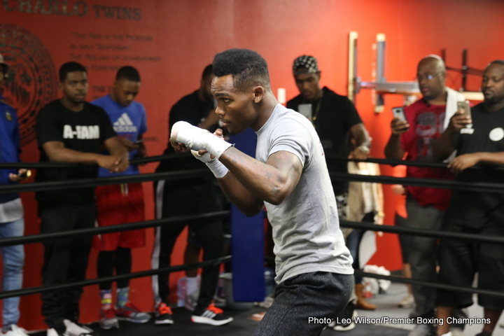 Jermell Charlo - Unbeaten fighting twin, Jermell Charlo (26-0, 11ko) clashes with 39 year old veteran, Joachim Alcine (35-7-2, 21ko) in his home state of Texas tonight, promising that he will knock his Canadian opponent out, en route to emulating twin brother Jermall, by capturing a world title.