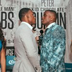 Daniel Jacobs, Peter Quillin - BROOKLYN (November 3, 2015) - Top New York-area boxing talent featured in undercard action on Saturday, December 5 at Barclays Center, hosted a media round table at McMahon's Public House in Brooklyn today to discuss their upcoming showdowns.