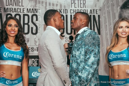 Daniel Jacobs vs. Peter Quillin undercard quotes