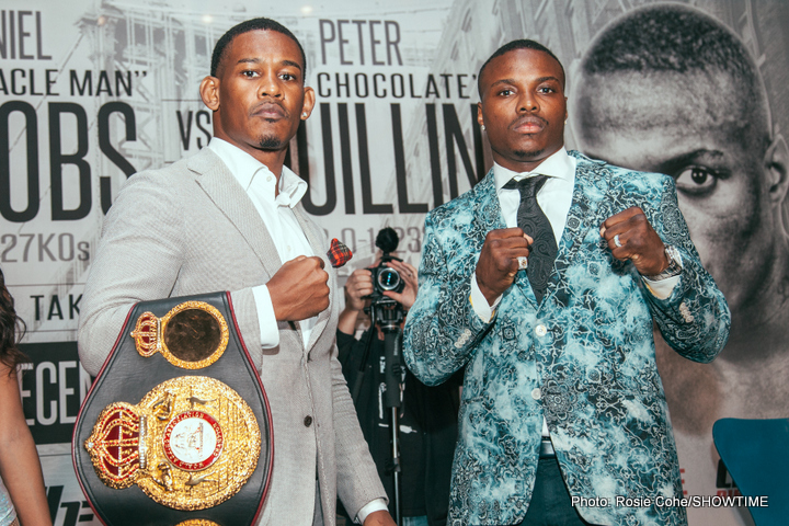 Daniel Jacobs, Peter Quillin - Boxing News