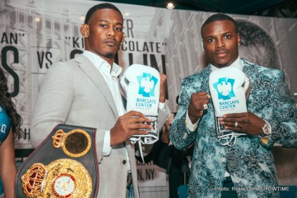 Peter Quillin and Daniel Jacobs talk December 5th fight