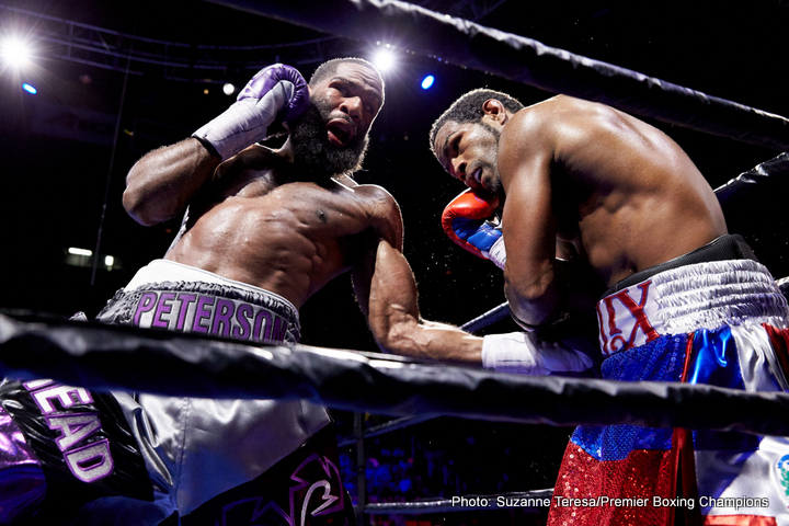 Felix Diaz Jr, Lamont Peterson - Boxing News