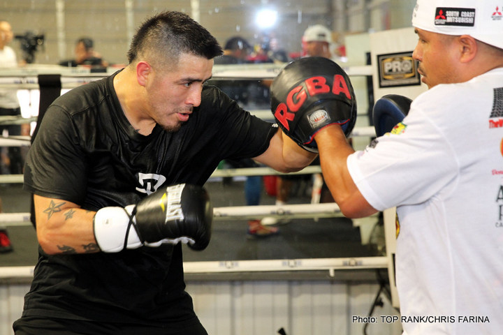 Brandon Rios - Despite his very public 'retirement' from boxing earlier this month, Brandon Rios will be back according to trainer, Robert Garcia, who has said 'Bam Bam's' decision to quit the sport 'only lasted a week.'