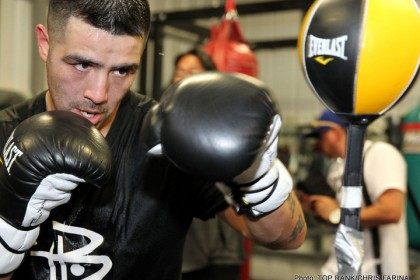 Rios: I Took a Sh** and Made Weight!