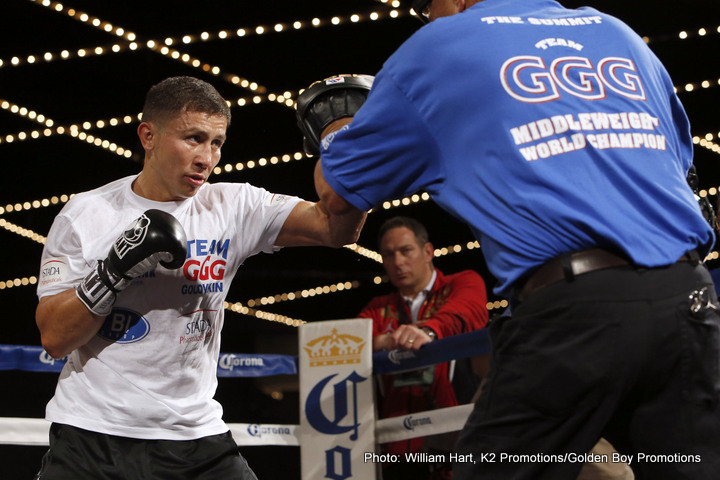 Dominic Wade Gennady Golovkin Boxing News