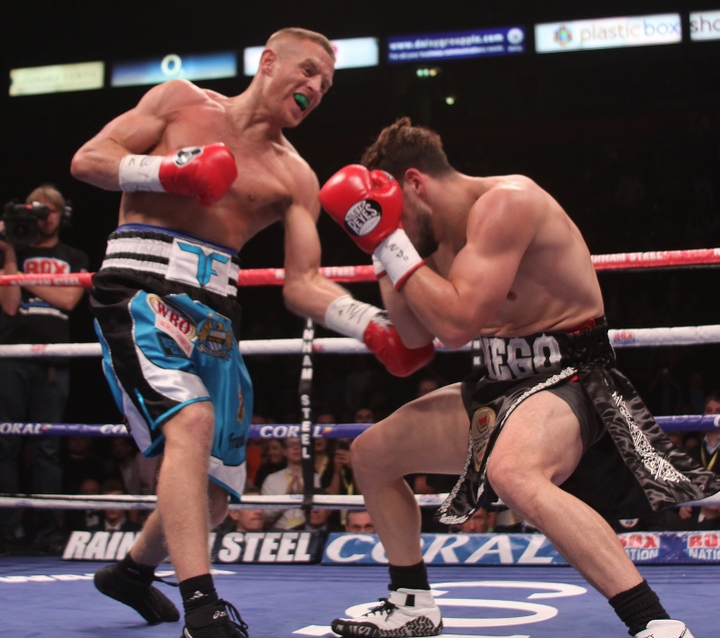 Diego Magdaleno, John Thompson, Liam Smith, Terry Flanagan - Best of British, Terry Flanagan and Liam Smith, spanked the Yanks at the Manchester Arena in their world title fights with Flanagan retaining his title and Smith being crowned new world champion.