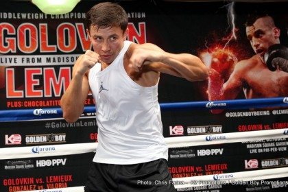Golovkin: Lemieux is acting like a star