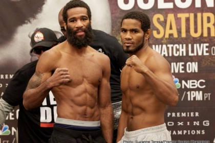 Lamont Peterson	144 vs. Felix Diaz Jr. 144.2 – Photos