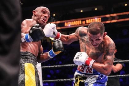 Martinez defeats Alexander; Selby beats Montiel