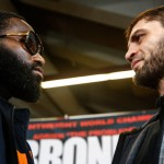Adrien Broner - (Photo Credit: Stephanie Trapp/SHOWTIME) CINCINNATI, Ohio -- (Oct. 1, 2015) – Two days before Adrien Broner goes for his fourth world title in his home state of Ohio, Broner and his opponent, Russia's Khabib Allakhverdiev participated in a final press conference Thursday at the U.S. Bank Arena in Cincinnati, Ohio.