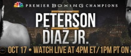 Lamont Peterson talks Felix Diaz Jr fight