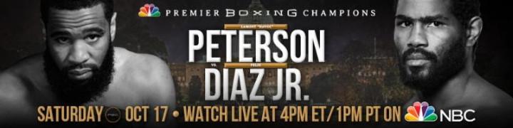 Felix Diaz Jr Lamont Peterson Boxing News