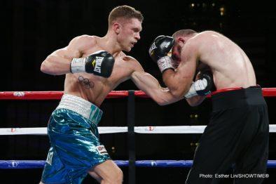 Antoine Douglas Les Sherrington Boxing News Boxing Results