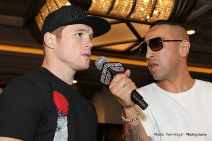 Canelo: 'I Never Run From Any Challenge'