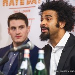 David Haye - David Deron Haye - born in Bermondsey, London, England, on 13th October, 1980, to an English mother and a Jamaican father - is one of the finest British boxers of the 21st century so far.