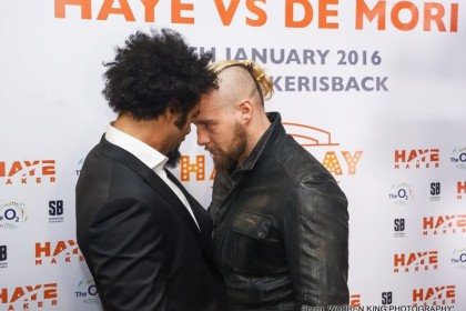 "Mark de Mori on Haye's ongoing comeback: ""His power is ridiculous"""