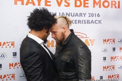 "Mark de Mori on Haye's ongoing comeback: ""His power is ridiculous"""