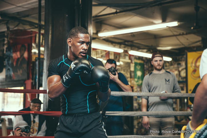Golovkin vs Jacobs: Jacobs leaving no stone unturned in training