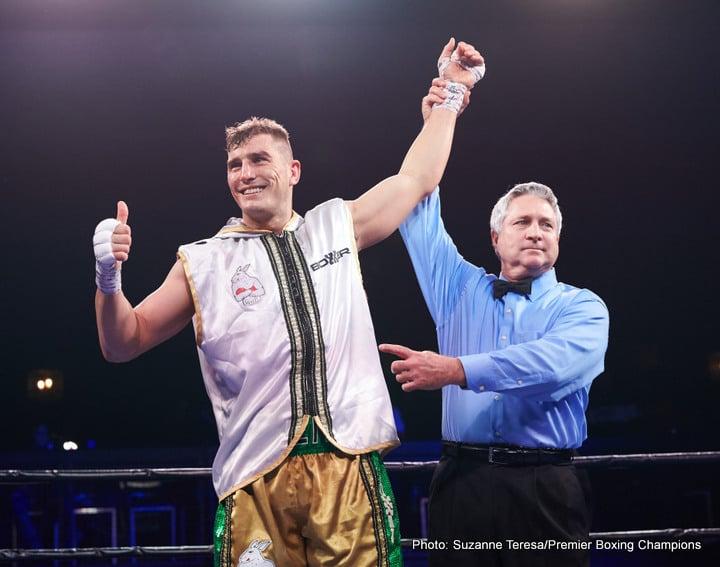 Erickson Lubin Errol Spence Jr. Jermell Charlo Boxing News Boxing Results