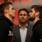 Rocky Fielding - photo by Lawrence Lustig - Callum Smith, 17-0 (12KO's), and Rocky Fielding, 21-0 (12KO's), will meet on Saturday in their eagerly anticipated clash for the vacant British super-middleweight title in Liverpool's Echo Arena.
