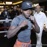 Randy Caballero - Fighters featured on the Miguel Cotto vs. Canelo Alvarez undercard hosted a media workout in Las Vegas at the Mandalay Bay Resort and Casino ahead of their scheduled fights on November 21.