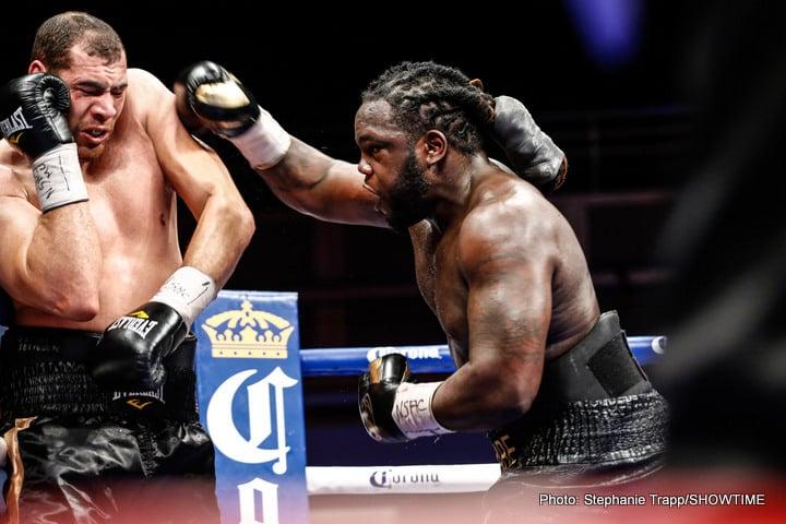 Alexander Povetkin Bermane Stiverne Boxing News