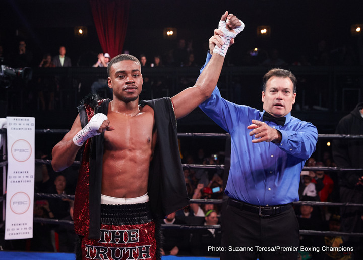 Errol Spence Jr. Kell Brook Boxing News